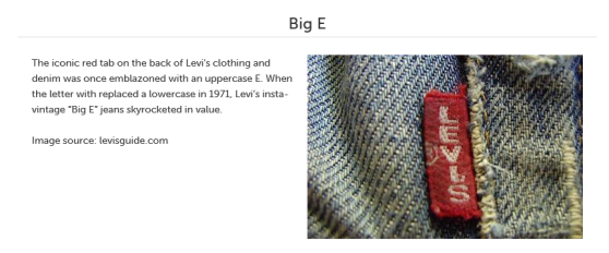 Denim 101: Big E